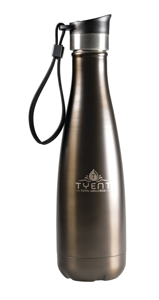 Tyent USA 750ml Titanium Stainless Steel Water Bottle